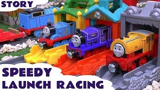 Download Thomas & Friends Speedy Launch Racing Play Doh Story Accident Cars Peppa Pig Frozen Funny Mario Video