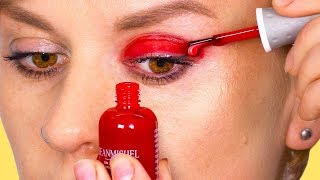 Download 30 TRUCOS DE BELLEZA Y MAQUILLAJE SÚPER LOCOS E INTELIGENTES QUE TIENES QUE INTENTAR Video