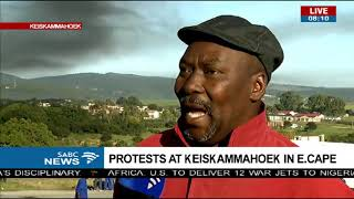 Download Protest at Keiskammahoek in Eastern Cape Video