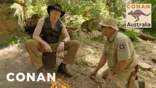 Download Conan Learns How To Survive In The Australian Bush - CONAN on TBS Video