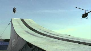 Download Levi LaVallee's World Record Snowmobile Jump - Red Bull New Year No Limits 2010 Video
