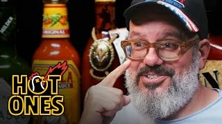 Download David Cross Embraces the Extremes of Spicy Wings | Hot Ones Video