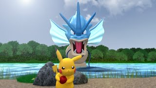Download Pokemon 3D Animation - Pokedex Entry #2 - Lake Of Rage! - Gyarados Video