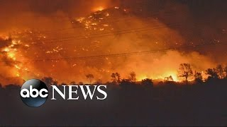 Download California Residents Barely Escape Wildfires Video