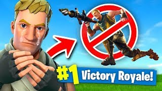 Download Fortnite But You're *NOT* Allowed to JUMP Fortnite: Battle Royale (Challenge) Video