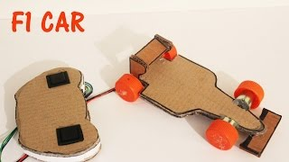 Download How to make a Battery Operated F1 Car with Remote Control Video