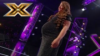Download Pregnant woman sings Whitney Houston «I have nothing». The X Factor - TOP 100 Video