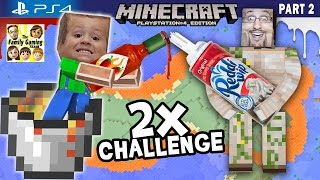 Download Minecraft Hot Sauce & Whipped Cream Challenge + Lava Island Golems (FGTEEV PS4 Part 2 Gameplay) Video