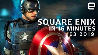 Download Square Enix at E3 2019 in 16 Minutes Video