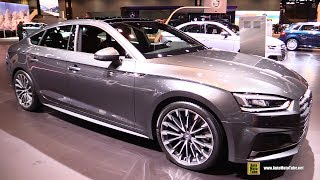 Download 2018 Audi A5 Sportback - Exterior and Interior Walkaround - 2017 Chicago Auto Show Video