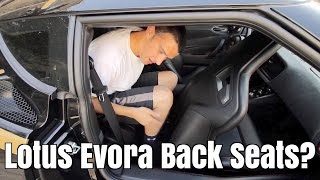 Download Can You Use The Lotus Evora S Rear Seats? Video