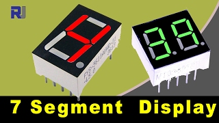 Download How to use LED seven segment display and calculate it's resistors value Video