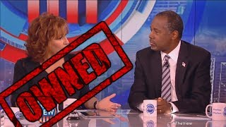 Download Ben Carson OWNS The View's Joy Behar and Whoopi Goldberg on The View! - Ben Carson and Joy Behar Video