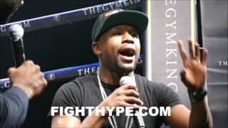 Download FLOYD MAYWEATHER DECLARES ERROL SPENCE WILL BE ″THE MAN″ AT 147; EXPLAINS WHAT HE NEEDS TO BE STAR Video