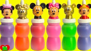 Download GOLD Mickey and Minnie Mouse Slime Surprises Video