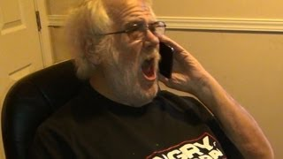 Download Angry Grandpa Calls Dish Network! Video