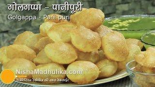Download Golgappa Recipe - Pani Puri Recipe - Puchka gupchup Recipe Video