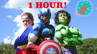 Download New Sky Kids Little Superheroes Compilation Video - 1 Hour with the Super Squad Video