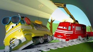 Download Taylers zonnebril maakt haar blind - Troy de Trein in Autostad 🚄 Trein cartoons voor kinderen Video