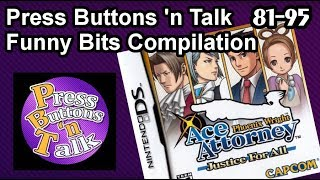 Download Press Buttons 'n Talk - Phoenix Wright: Justice for All: Funny Bits Compilation (Ep. 81-95) Video