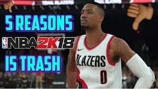 Download NBA 2K18 - 5 REASONS WHY NBA2k18 IS TRASH - MyCareer Playoffs Gameplay Video