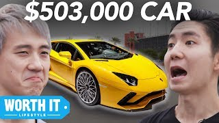 Download $25,000 Car Vs. $503,000 Car Video