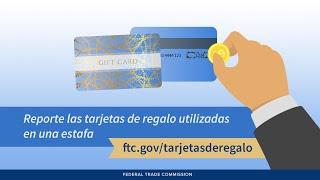 Download Reporte las tarjetas de regalo utilizadas en una estafa | Federal Trade Commission Video