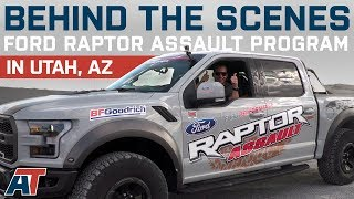 Download Raptor F150 Off Roading With Justin At Ford Performance Raptor Assault School Video