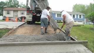 Download How to Pour a Concrete Driveway Video