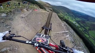 Download Dan Atherton Sends It Down the Hardline MTB Track | Red Bull Hardline: GoPro View Video