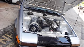 Download Total Opposites - Darren's Boosted F22c AE86 Video