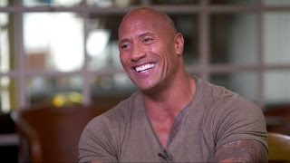 Download Moana | Dwayne Johnson on Singing, Shedding 'Manly Tears' Video