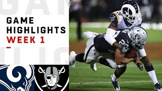 Download Rams vs. Raiders Week 1 Highlights | NFL 2018 Video