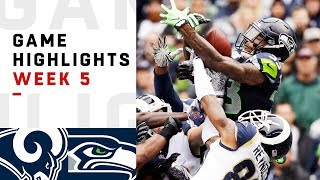 Download Rams vs. Seahawks Week 5 Highlights | NFL 2018 Video