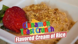 Download High Protein Cream of Rice Breakfast Cereal For Stable Blood Sugar Video