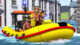Download Fireman Sam New Episodes | Best Water Rescues 🚒 🔥 | Cartoons for Children Video