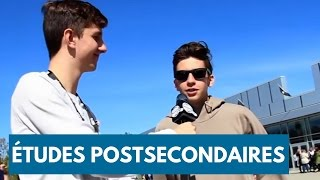 Download VOX POP : LES ÉTUDES POSTSECONDAIRES (avec GARNEMENTS inc.) Video