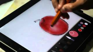 Download Drawing using Paper by FiftyThree. Simple and best drawing apps on ipad. Video