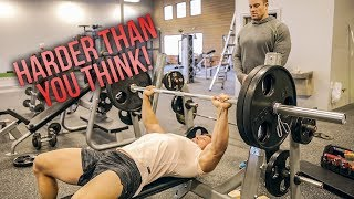 Download Bench Press Your Bodyweight CHALLENGE! Video