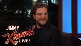 Download Jimmy Kimmel's Three-Year-Old Daughter Has a Crush on Kit Harington Video