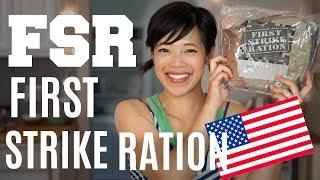 Download FIRST STRIKE RATION Menu 6 | FSR Military Ration Taste Test Video