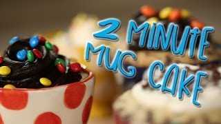 Download Two Minute Mug Cakes | Just Add Sugar Video
