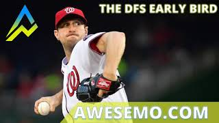 Download The DFS Early Bird Top MLB DFS Plays Yahoo DraftKings FanDuel 05/25/2019 Video