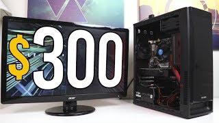 Download $300 CONSOLE KILLER Gaming PC Challenge! - VOLT PT.1 - Build & Benchmarks Video