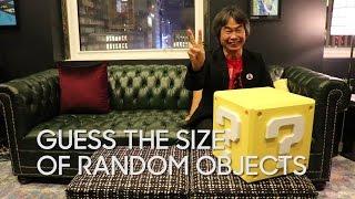 Download Shigeru Miyamoto Guesses The Size of Random Objects Video