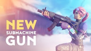 Download NEW SUBMACHINE GUN! - TACTICAL SMG VAULTED! (Fortnite Battle Royale) Video