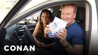 Download Conan Helps His Assistant Buy A New Car - CONAN on TBS Video