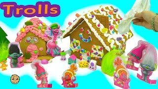 Download DIY Poppy + Branch Trolls Rainbow Candy Christmas Gingerbread House Kit - Cookieswirlc Video Video
