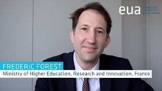 Download 4th Funding Forum – Frederic Forest, Ministry for Higher Education, Research and Innovation, France Video