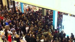 Download Black Friday Crowd Rushing into Urban Outfitters Video
